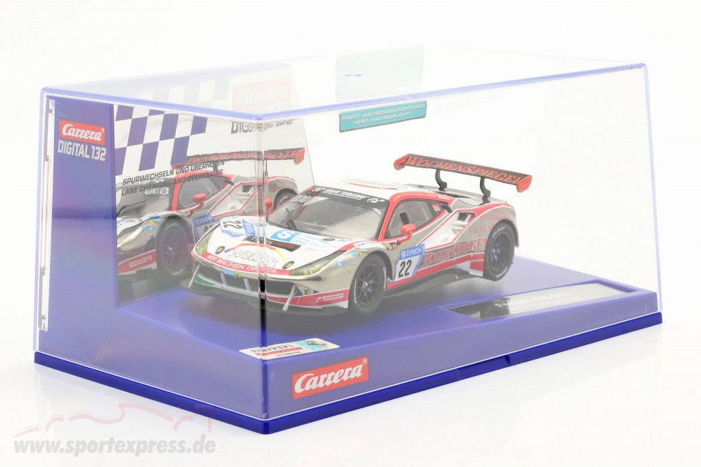 Digital 132 SlotCar Ferrari 488 GT3 #22 WTM Racing  Carrera