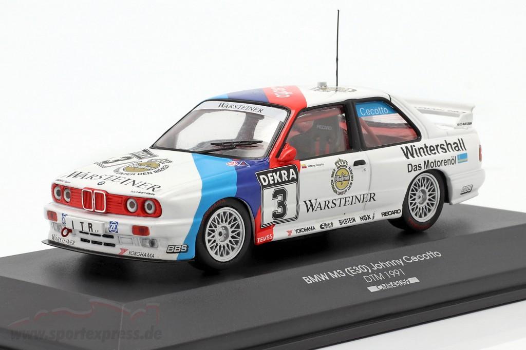 BMW M3 (E30) Sport Evolution #3 DTM 1991 Johnny Cecotto