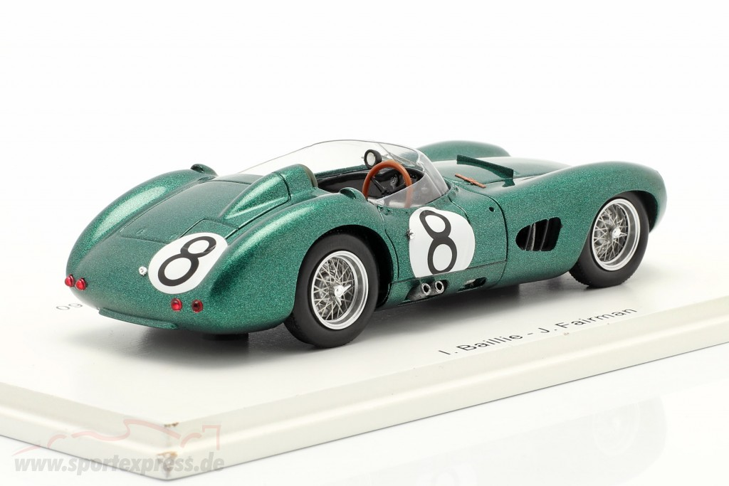 Aston Martin DBR 1 #8 24h LeMans 1960 Baillie, Fairman