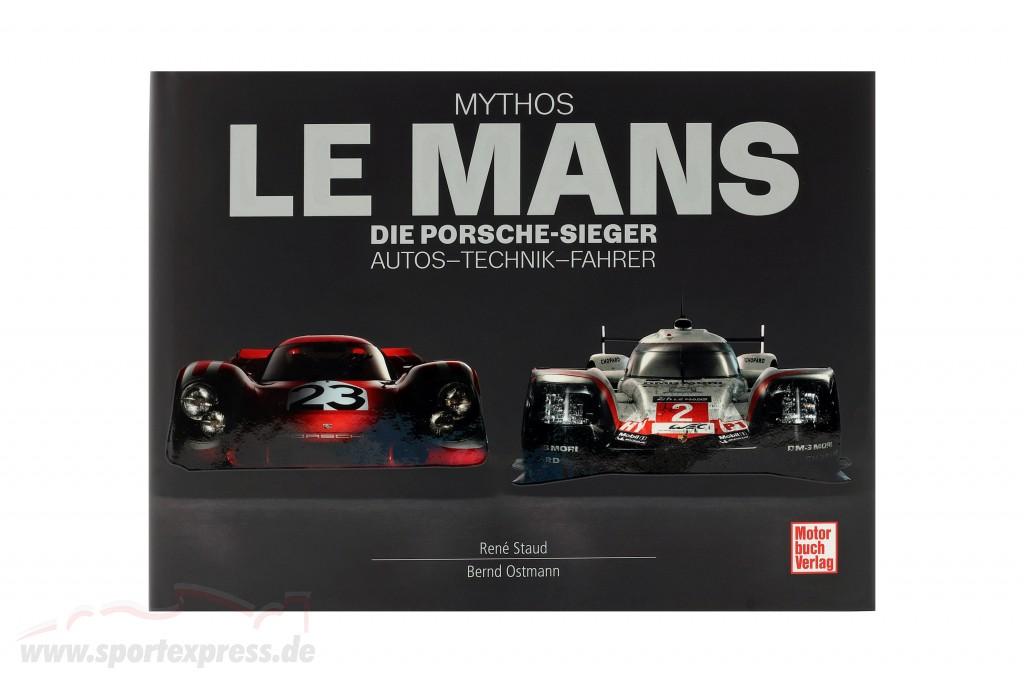 Book: myth LeMans - The Porsche Winners. Cars - Technology - Drivers