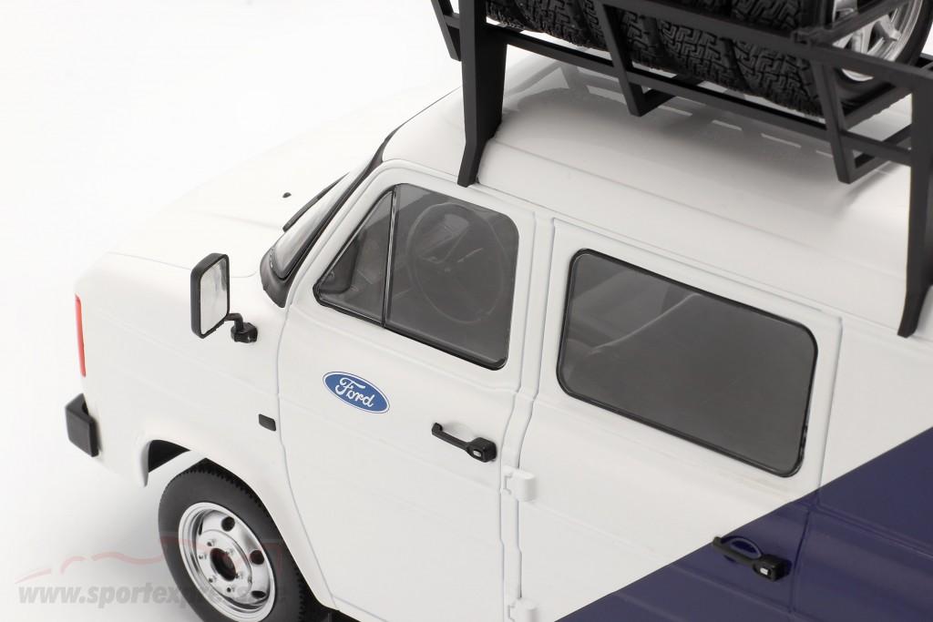Ford Transit MK II Van Team Ford white / blue