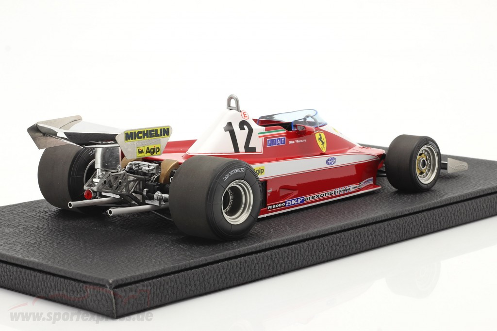 Gilles Villeneuve Ferrari 312T3 #12 formula 1 1978