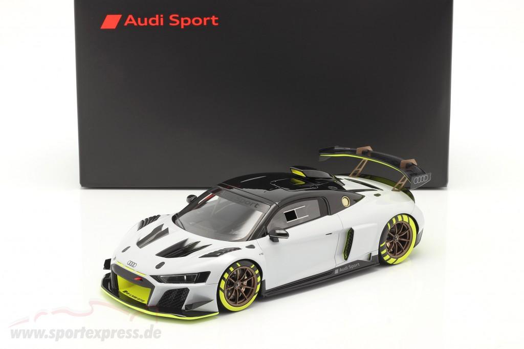 Audi R8 LMS GT2 Presentation Car 2020 grey / black / yellow