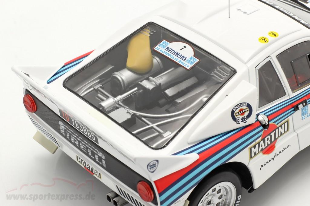Lancia 037 Rally #7 2nd Rallye Acropolis 1983 Alen, Kivimäki