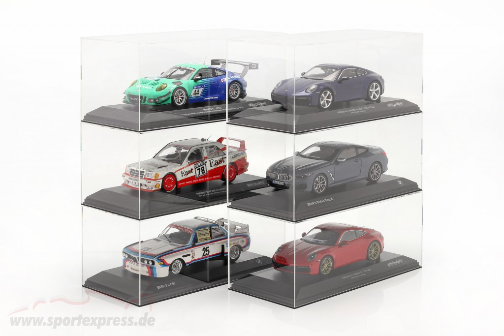 High quality Acrylic display case For Model cars in the scale  with base
