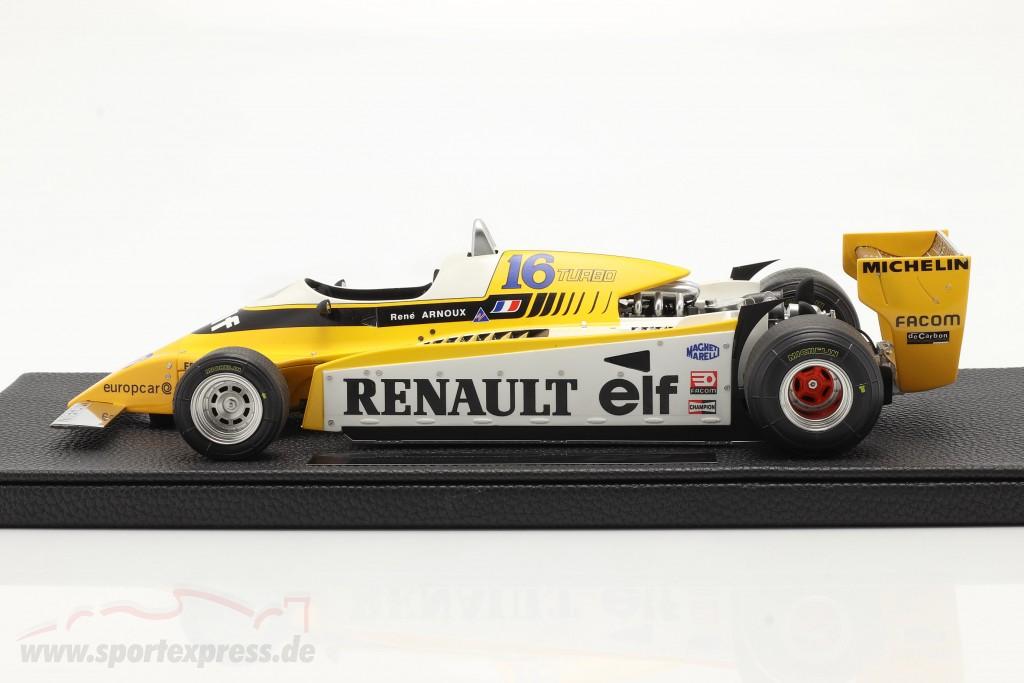 Rene Arnoux Renault RE20 Turbo #16 formula 1 1980