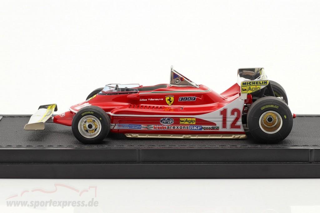 Gilles Villeneuve Ferrari 312T4 #12 Monaco GP formula 1 1979