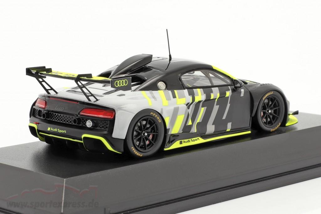 Audi R8 LMS GT2 Presentation Car black / grey / yellow