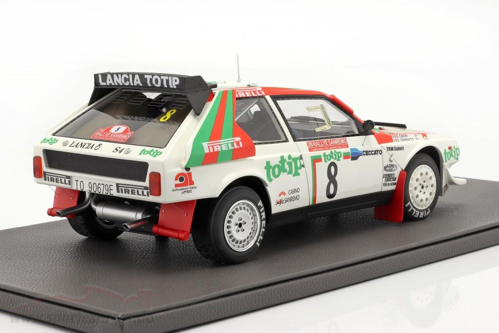 Lancia Delta S4 #8 2nd Rallye SanRemo 1986 Cerrato, Cerri