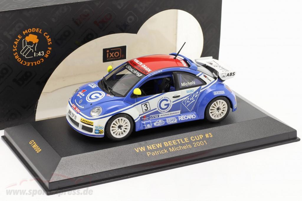 Volkswagen VW Beetle #3 New Beetle Cup 2001 Michels
