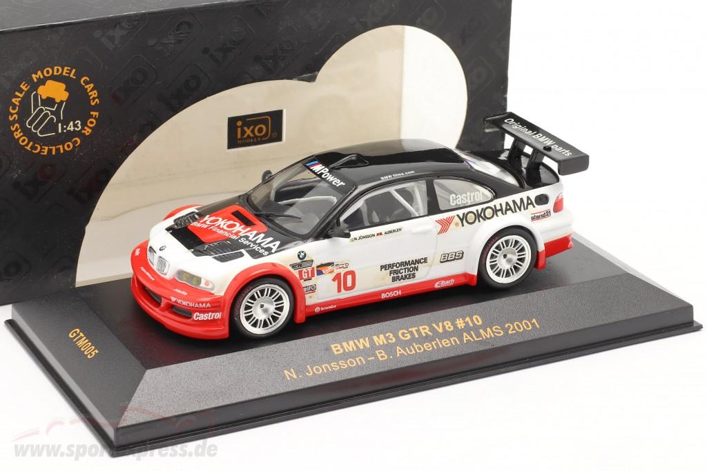 BMW M3 GTR V8 #10 ALMS 2001 Jonsson, Auberlen