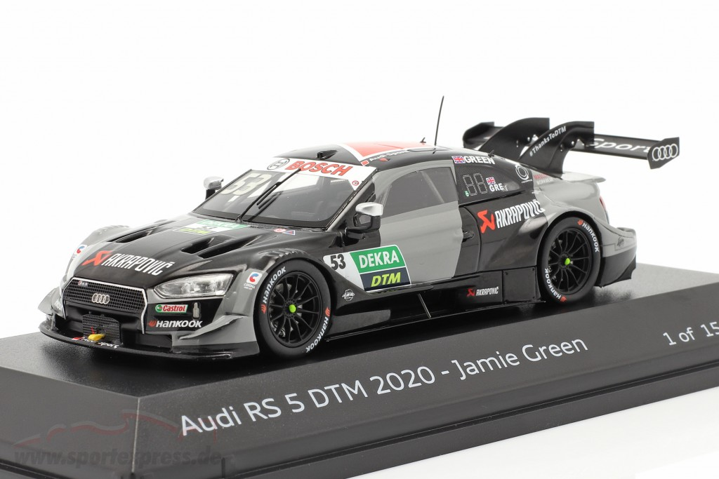 Audi RS 5 Turbo DTM #53 DTM 2020 Jamie Green  Spark