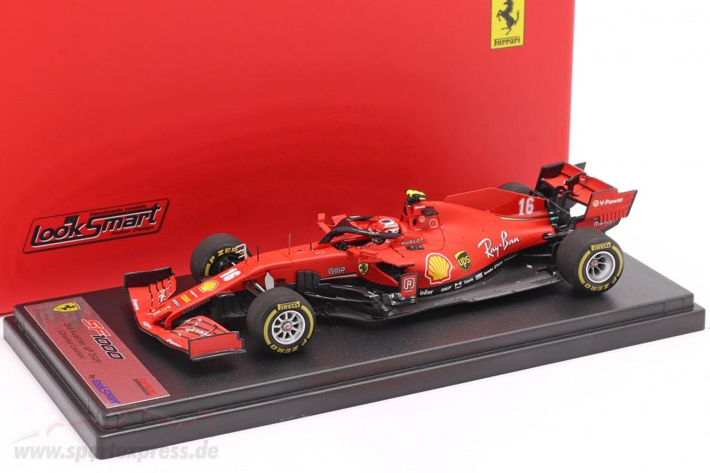 Charles Leclerc Ferrari SF1000 #16 2nd Austrian GP formula 1 2020