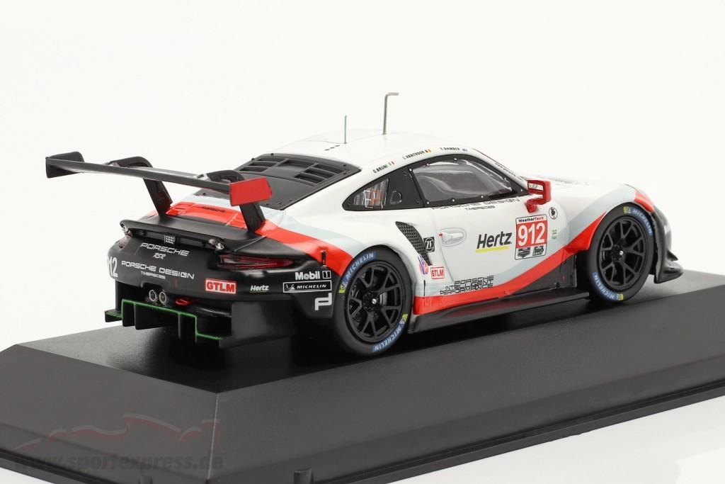 Porsche 911 (991) RSR #912 24h Daytona 2018 Bamber, Bruni, Vanthoor