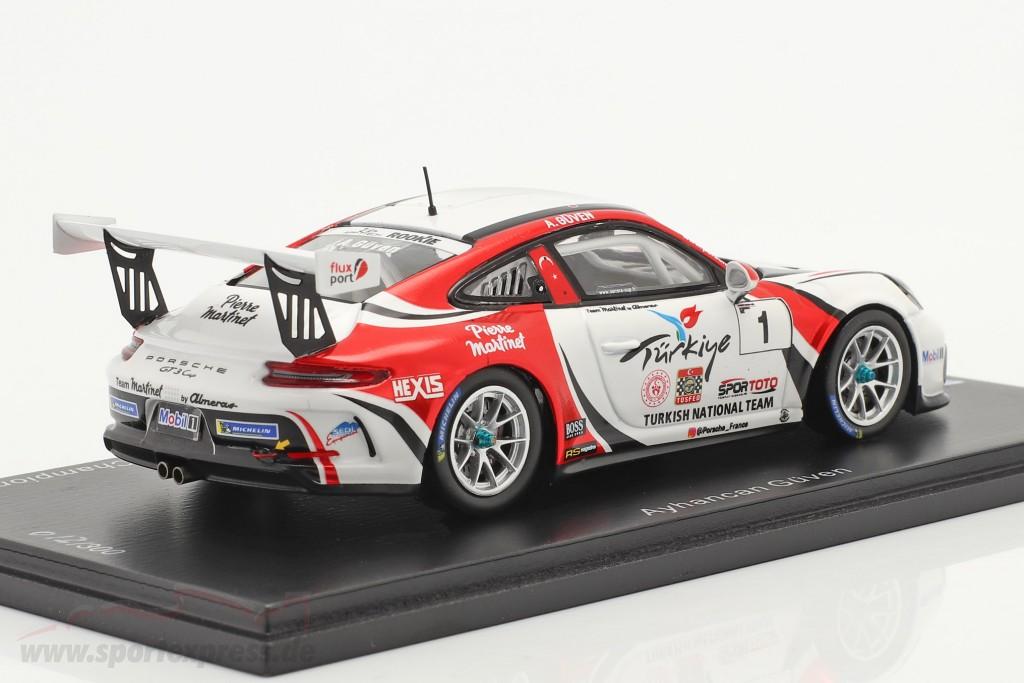 Porsche 911 GT3 Cup #1 champion Porsche Carrera Cup France 2019