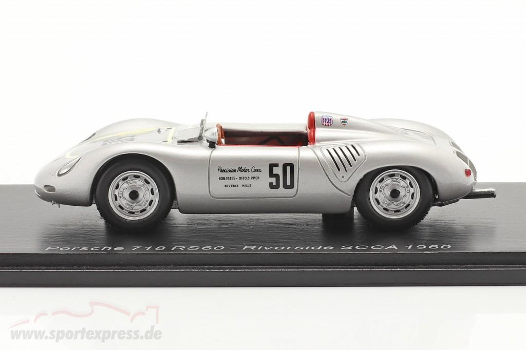 Porsche 718 RS60 #50 Riverside 200 Miles SCCA 1960 K. Miles