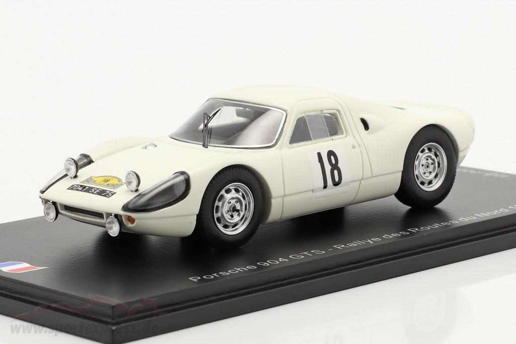 Porsche 904 Carrera GTS #18 Rallye des Routes du Nord 1966