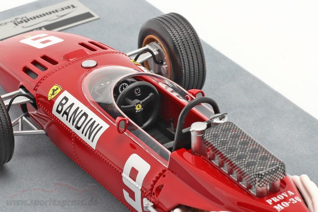 Lorenzo Bandini Ferrari 312/66 #9 German GP formula 1 1966