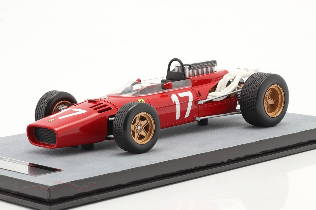 John Surtees Ferrari 312/66 #17 Monaco GP formula 1 1966