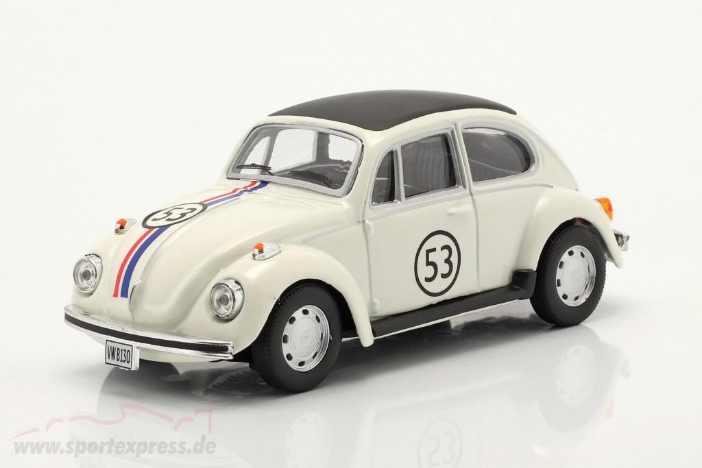 Volkswagen VW Beetle #53 Herbie white