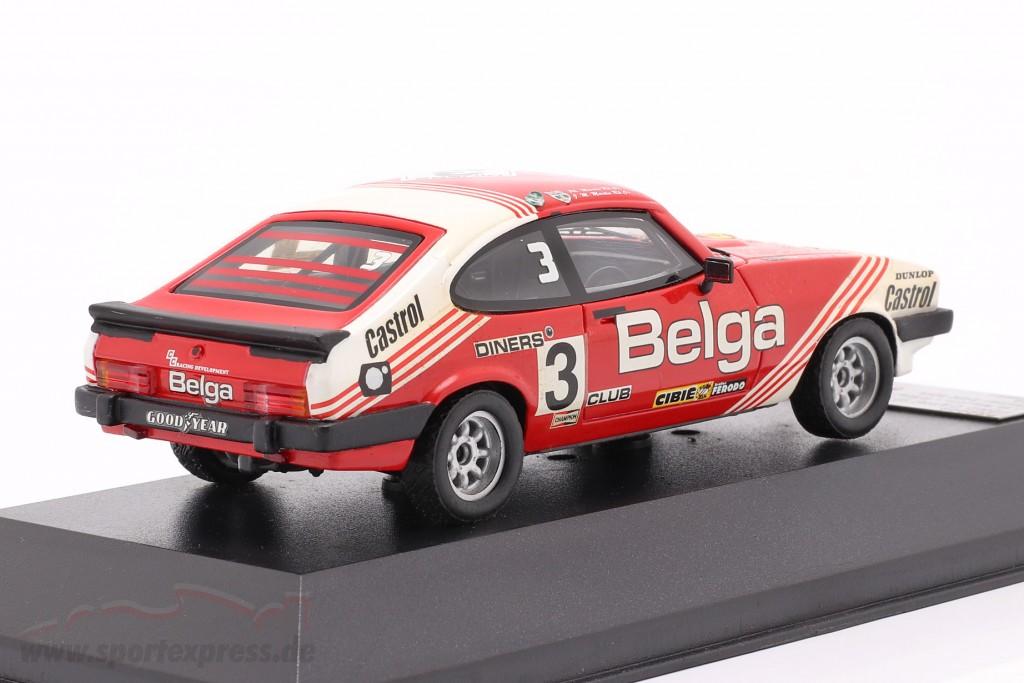 Ford Capri III 3. 0S #3 winner 24h SPA 1980 Martin, Martin
