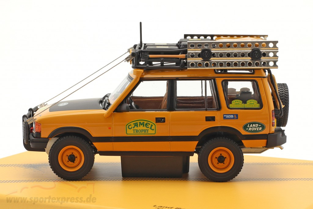 Land Rover Discovery Series I Camel Trophy Kalimantan 1996