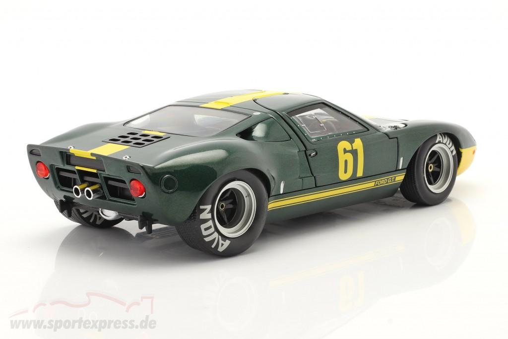 Ford GT40 MK1 #61 dark green metallic / yellow
