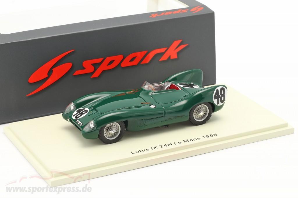 Lotus IX #48 24h LeMans 1955 Chapman, Flockhart