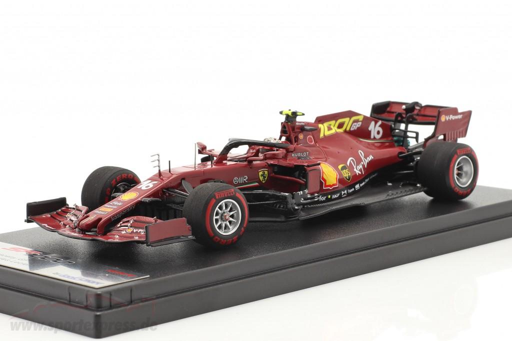C. Leclerc Ferrari SF1000 #16 1000th GP Ferrari Toskana GP F1 2020