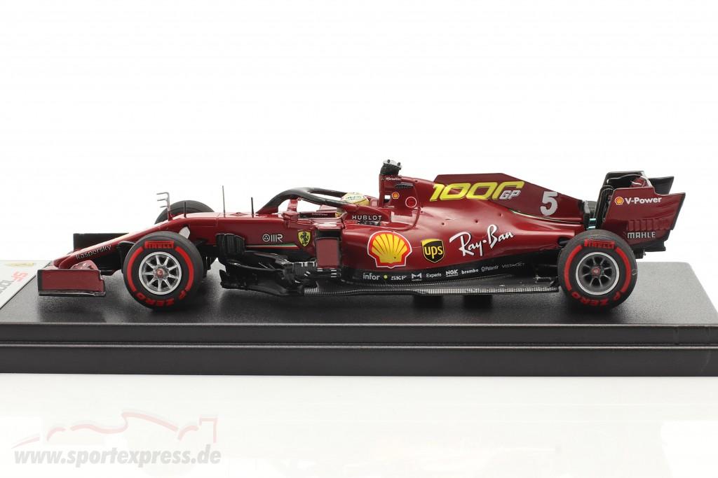 S. Vettel Ferrari SF1000 #5 1000th GP Ferrari Tuscany GP F1 2020