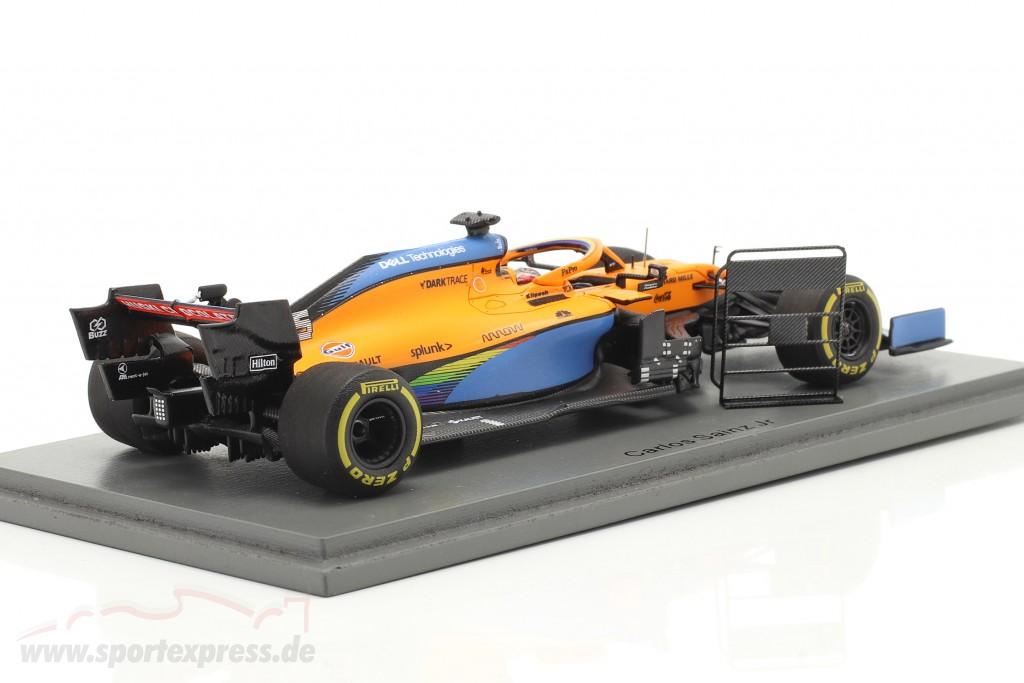 Carlos Sainz McLaren MCL35 #55 2nd Italian GP formula 1 2020