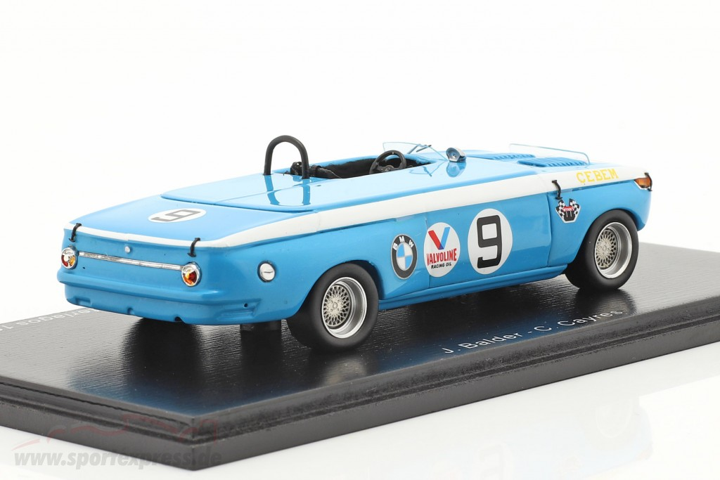 BMW 2002 Escquife Voador #9 Winner 1500km Interlagos 1970