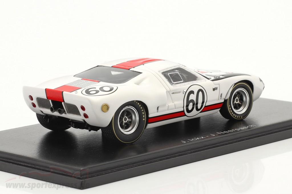 Ford GT40 #60 24h LeMans 1966 Ickx, Neerpasch