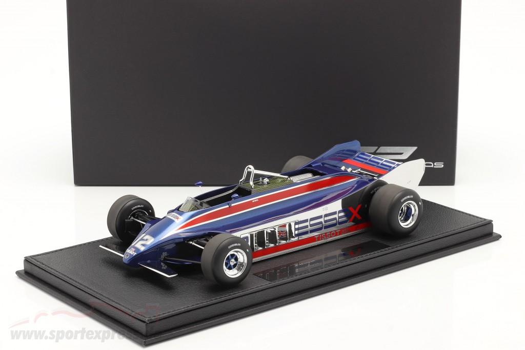 N. Mansell Lotus 88A #12 Practice Long Beach GP formula 1 1981