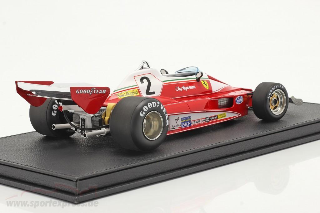 Clay Regazzoni Ferrari 312T2 #2 2nd Italian GP formula 1 1976