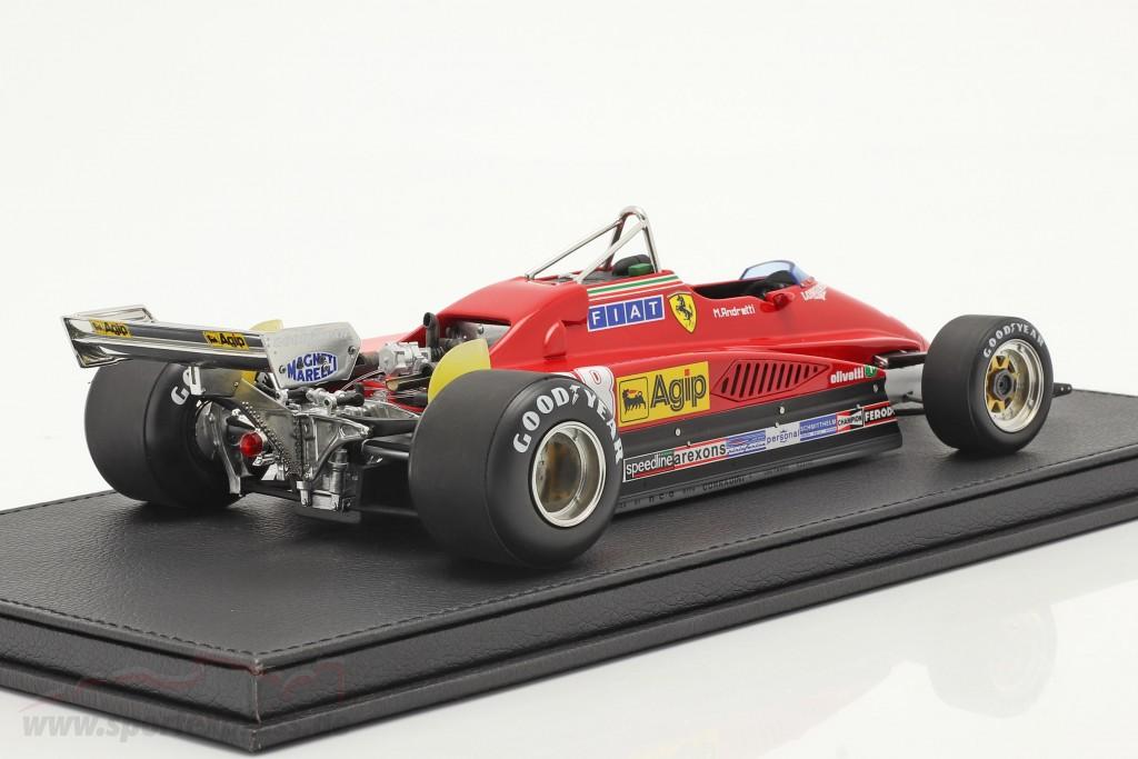 Mario Andretti Ferrari 126C2 #28 3rd Italian GP formula 1 1982