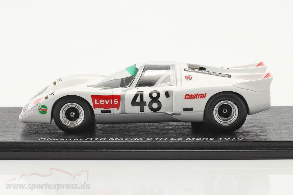 Chevron B16 #48 24h LeMans 1970 Vernaeve, Deprez