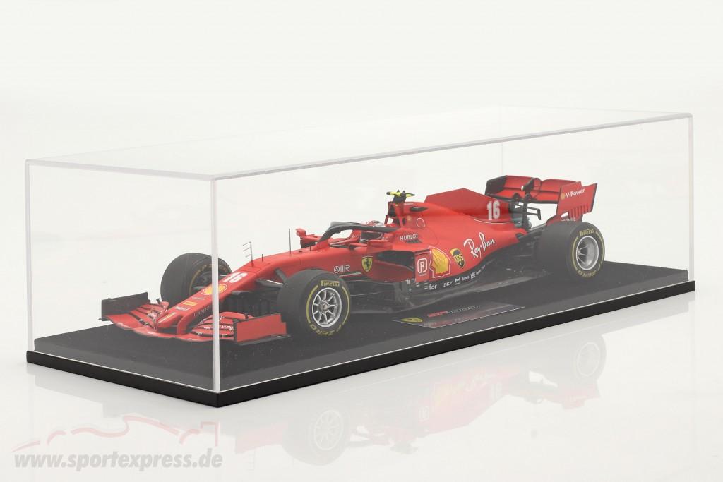 C. Leclerc Ferrari SF1000 #16 2nd Austrian GP formula 1 2020