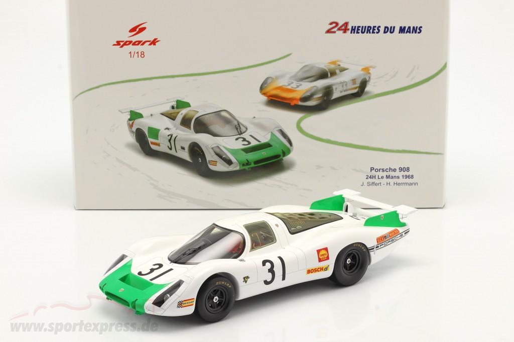 Porsche 908 Coupe #31 24h LeMans 1968 Siffert, Herrmann
