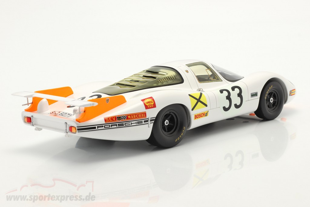 Porsche 908 Coupe #33 3rd 24h LeMans 1968 Stommelen, Neerpasch