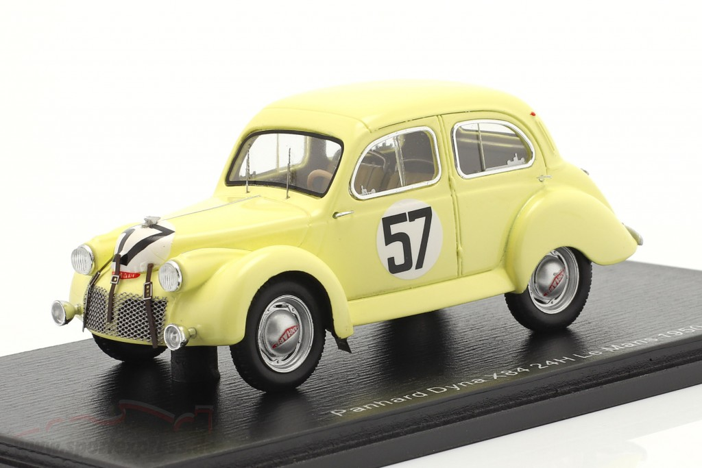Panhard Dyna X84 #57 24h LeMans 1950 Eggen, Escale