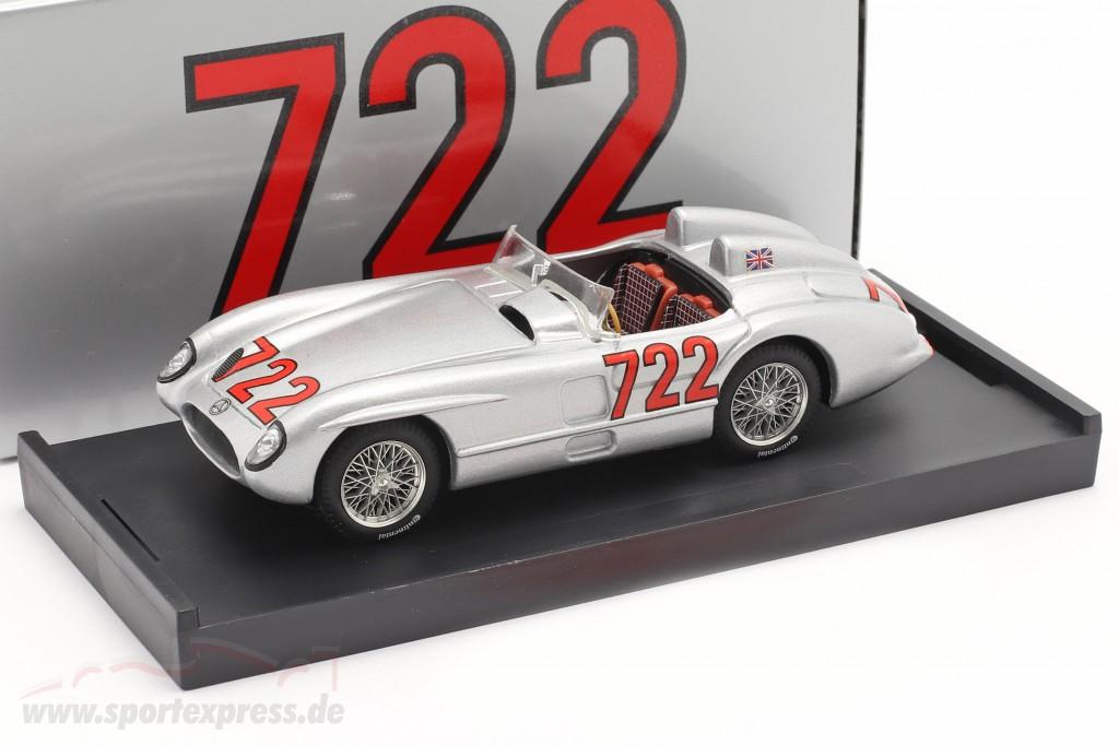Mercedes-Benz 300 SLR #722 winner Mille Miglia 1955 Moss, Jenkinson