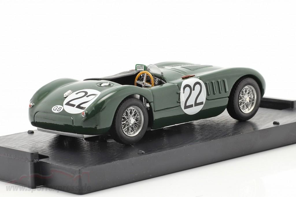 Jaguar C-Type #22 24h LeMans 1951 Moss, Fairman