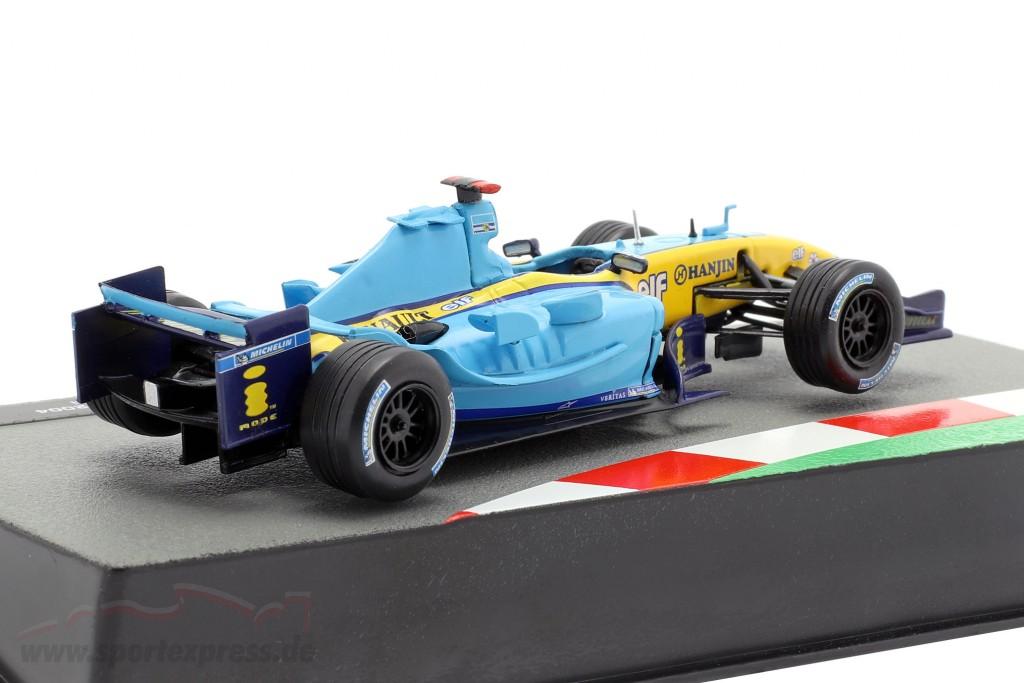 Jarno Trulli Renault R24 #7 formula 1 2004
