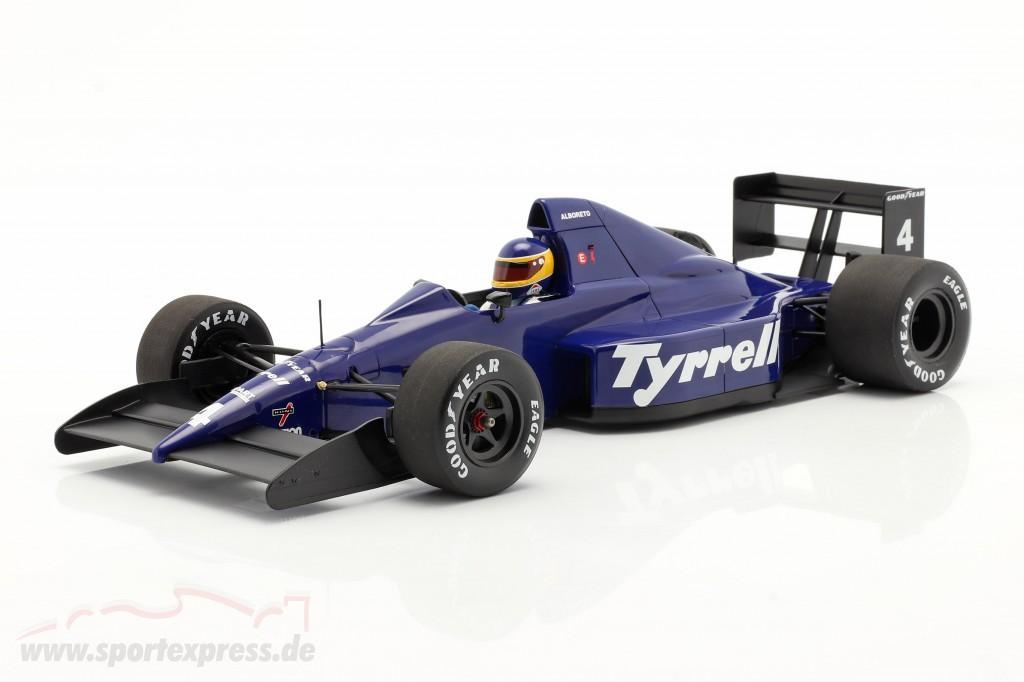 Michele Alboreto Tyrrell 018 #4 3rd Mexican GP formula 1 1989