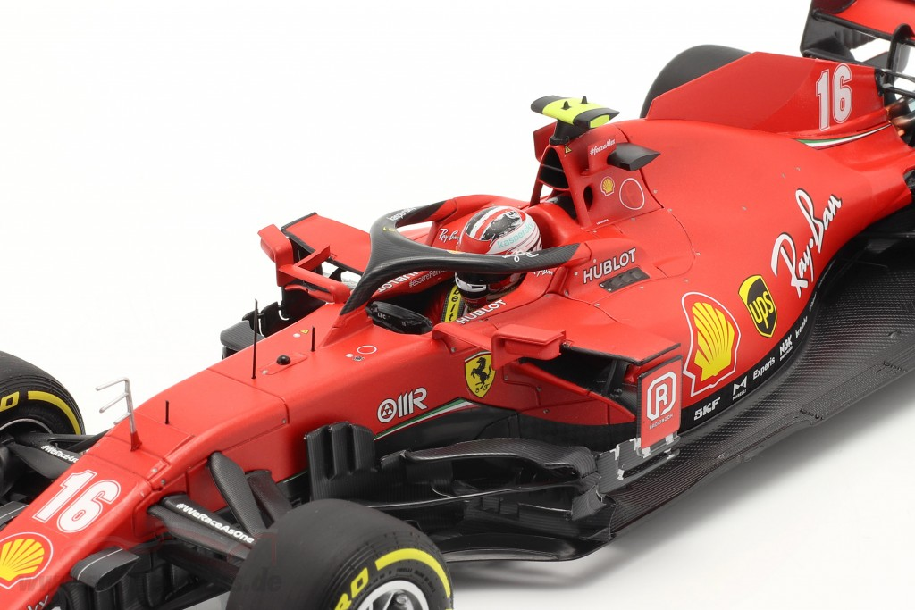 Charles Leclerc Ferrari SF1000 #16 2nd Austrian GP formula 1 2020  BBR