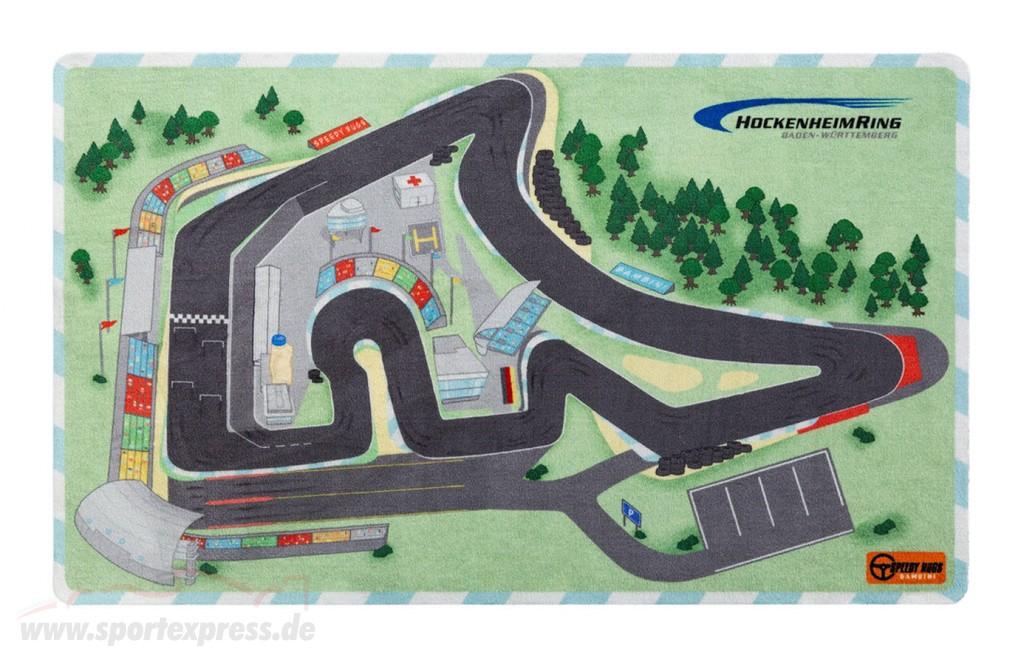 Play carpet Hockenheimring 150 x 90 for scale 1:43 / 1:64 / 1:87