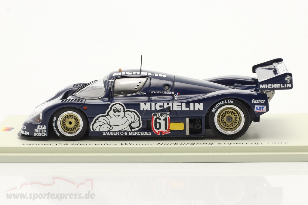 Sauber C9 #61 Winner Supersprint Nürburgring Supercup 1987 Schlesser