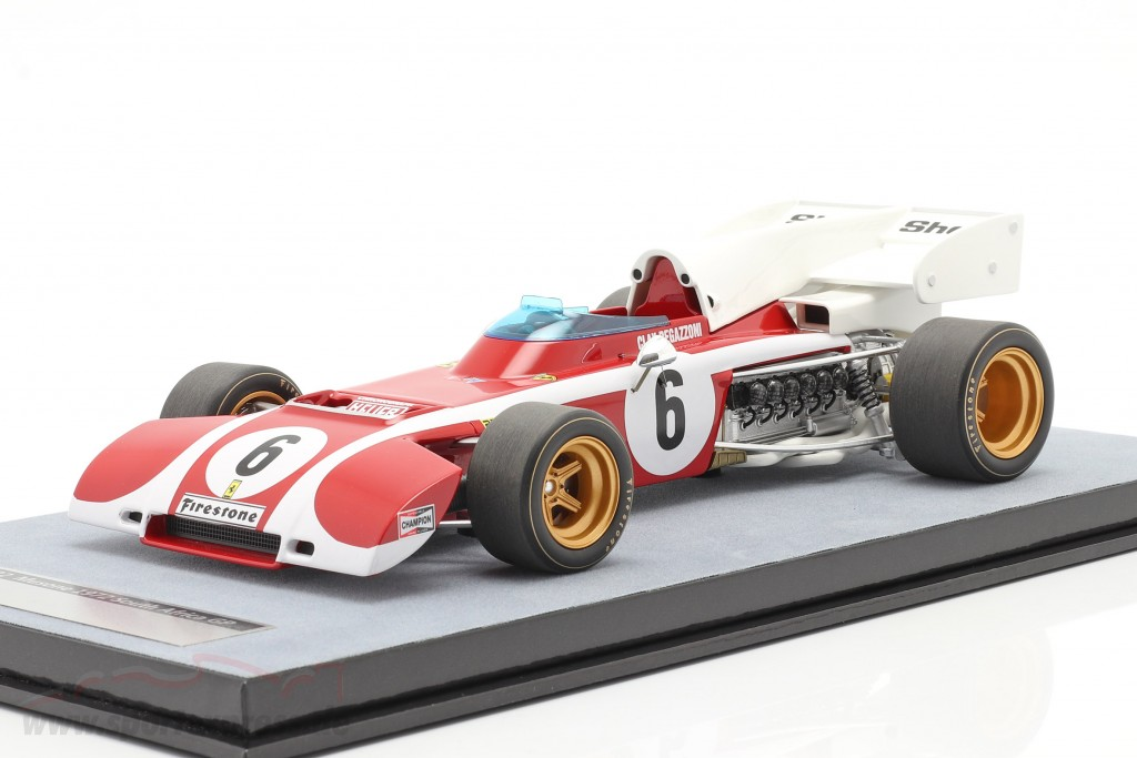 Clay Regazzoni Ferrari 312B2 #6 South African GP formula 1 1972