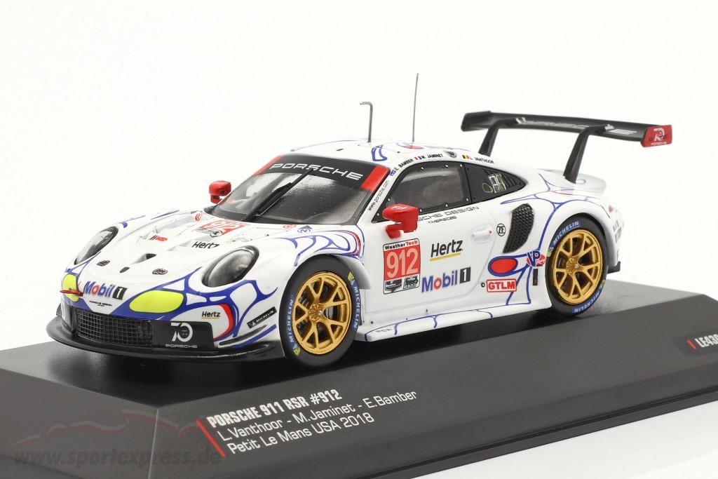 Porsche 911 (991) RSR #912 2nd GTLM class Petit LeMans 2018 Porsche GT Team